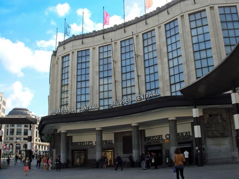 ブリュッセル中央駅 [Gare de Br...