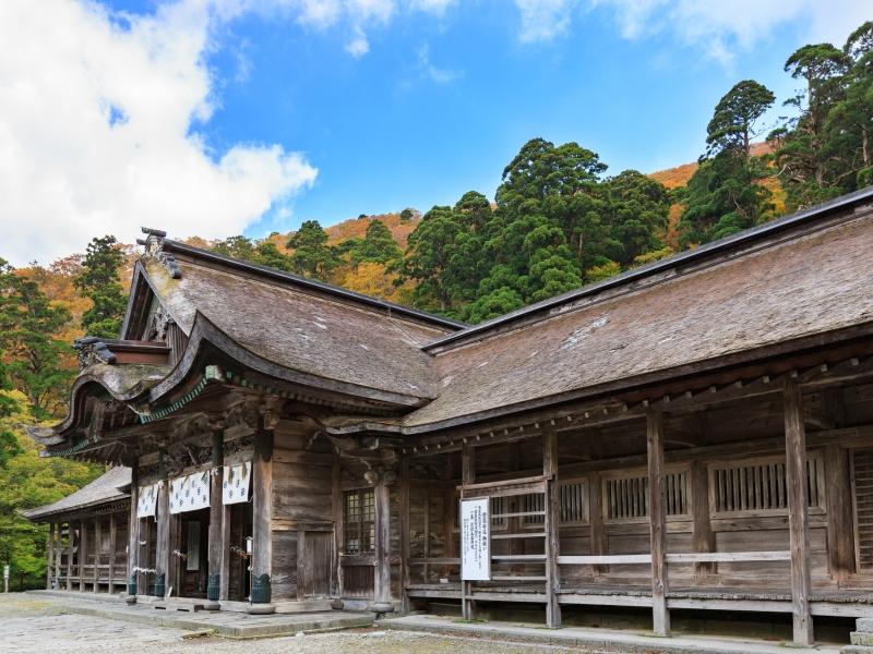 【鳥取】大国主命を祀る、大山「大神山神社」で荘厳な雰囲気を堪能!