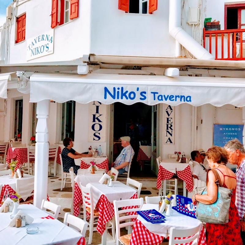ギリシャ・ミコノス島】ミコノスタウンお勧めのシーフードレストラン ...