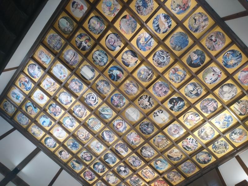参拝は寝転んで!【鳥取県・大山】圓流院で108枚もの妖怪が描かれた「妖怪天井画」を拝もう!