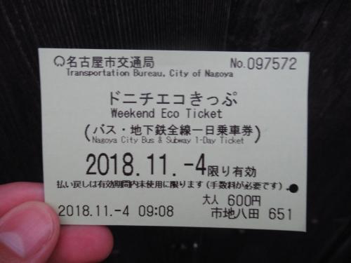 きっぷ ドニチエコ