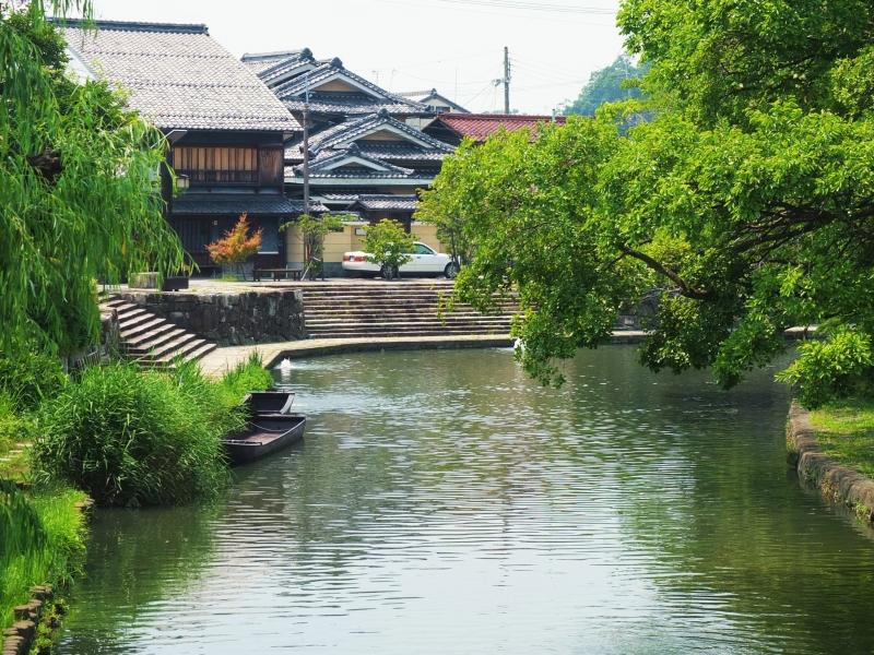 歩いて周る近江八幡半日観光とお勧めランチ【滋賀】