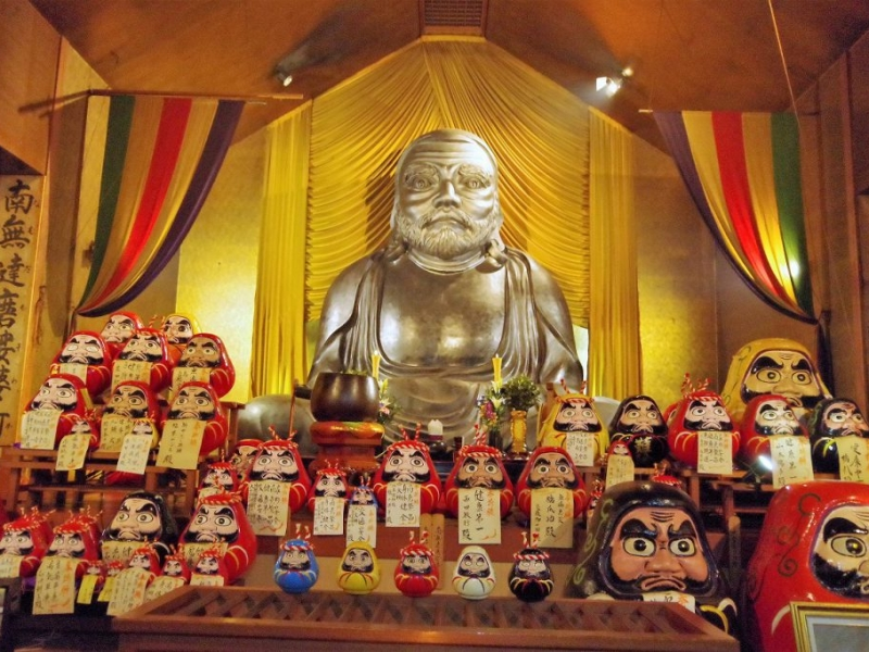 西伊豆【土肥達磨寺】日本一の達磨で願望成就をかなえよう