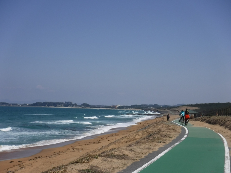 【福岡】海を間近にサイクリング~遠賀宗像自転車道
