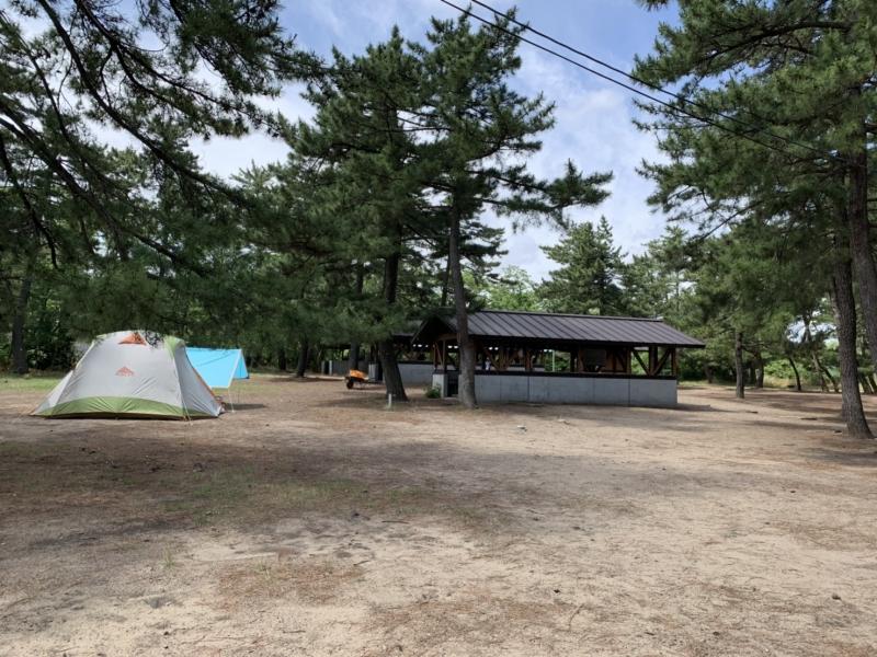 鳥取砂丘から車で約3分!全て無料!快適な柳茶屋キャンプ場!