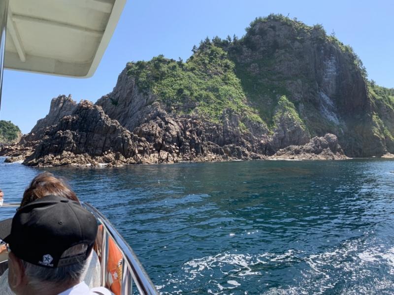 【鳥取】席は右側がオススメ!浦富海岸・島めぐり遊覧船に乗ろう!