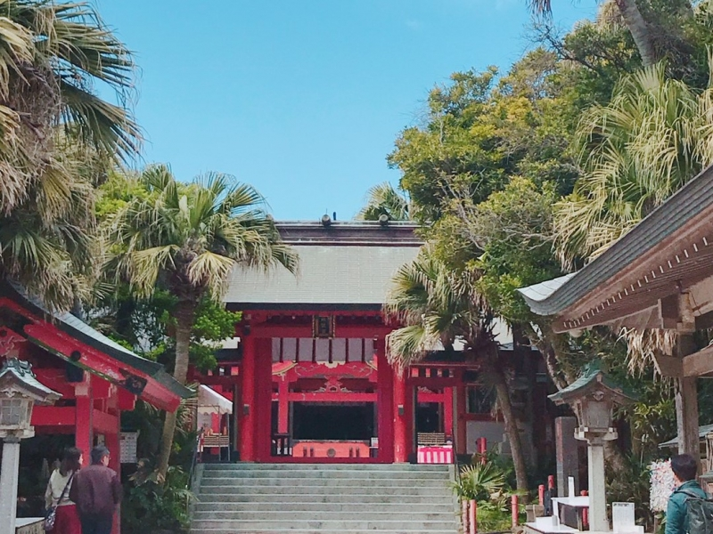 海に浮かぶ「青島神社」無料駐車場&おすすめ参拝時間!多くの芸能人も訪れる、大人気の6つの理由!
