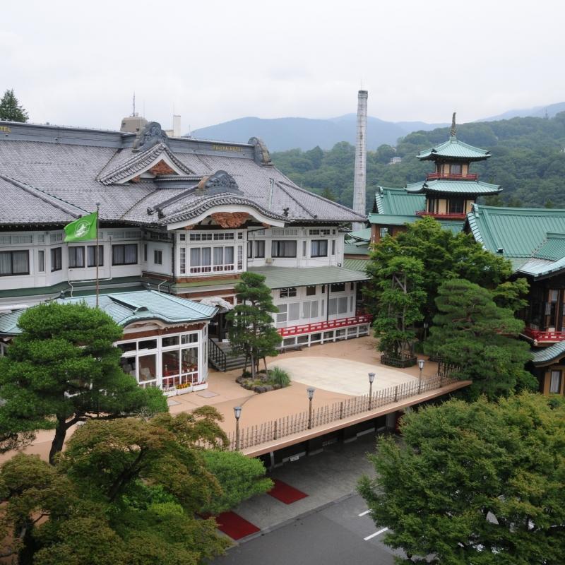 ホテル 箱根 宮ノ下 富士屋 【富士屋ホテル・オーキッドラウンジ】箱根・カフェ