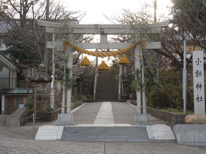 【神奈川・小動神社】神様が大歓迎してくれる神秘的な神社