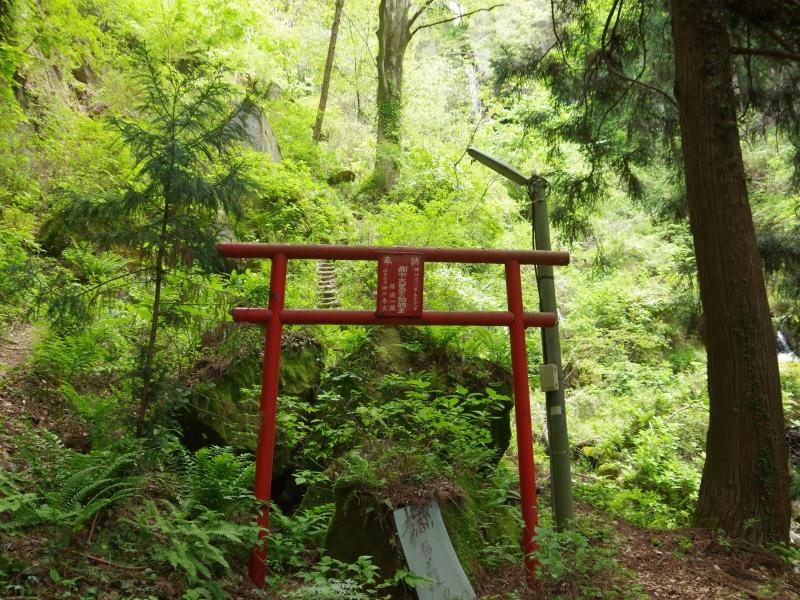 群馬県 日本100名瀑の一つ 神秘的な光景広がる棚下不動の滝
