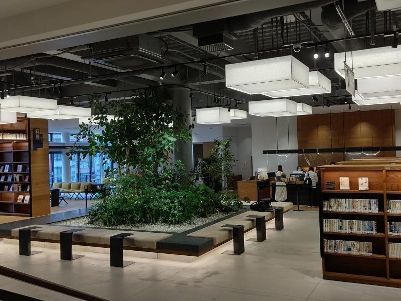 キーノ和歌山に移転した【和歌山市民図書館】は絵になるおしゃれスポット◎