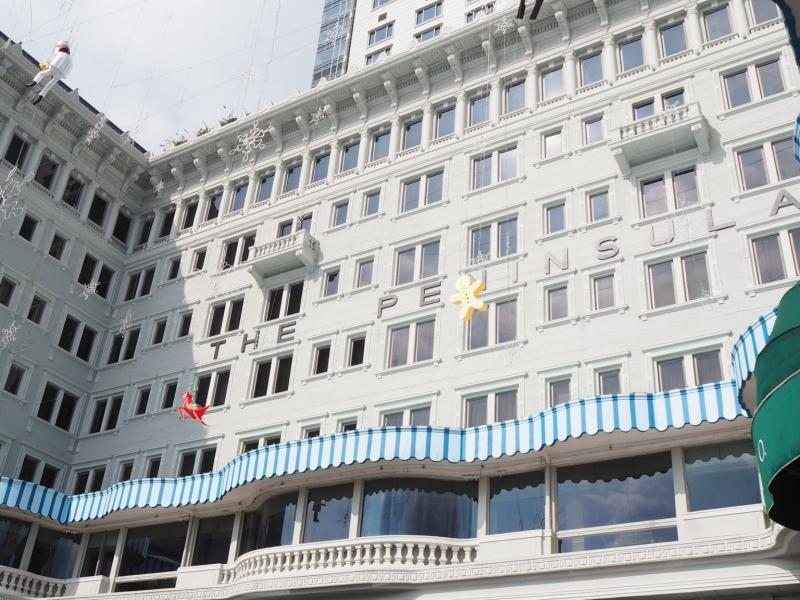 【香港】宿泊客でなくても楽しめる香港の最高級ホテル「ザ・ペニンシュラ香港」