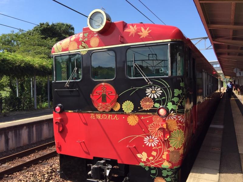【石川】観光列車・花嫁のれんに乗ってみよう!