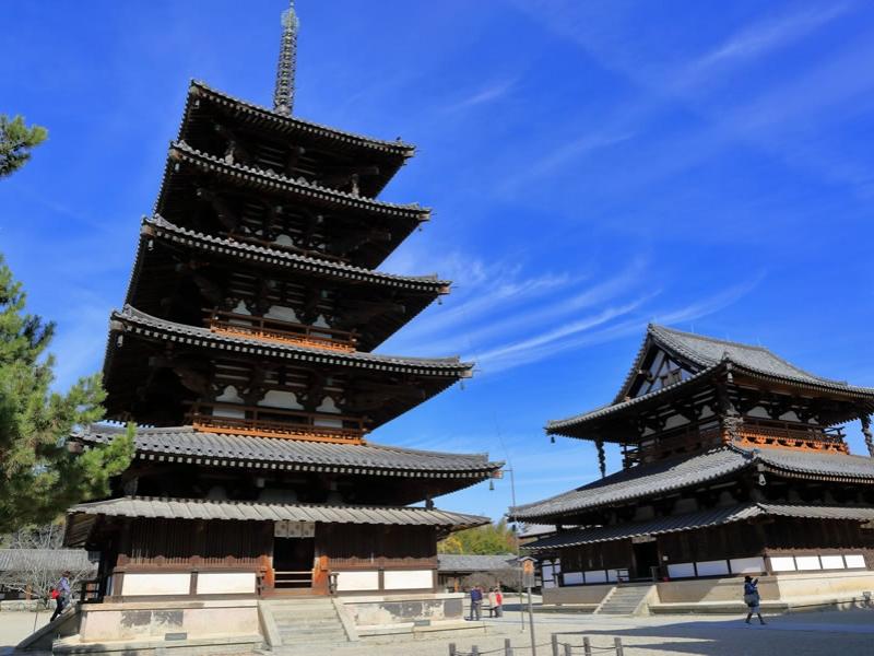 【奈良】法隆寺・中宮寺・法起寺をめぐる1日観光モデルコース