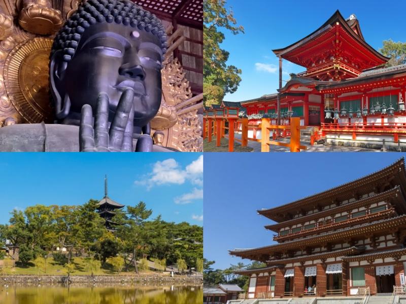 【奈良】東大寺・春日大社も!世界遺産の6寺社をめぐる1日観光モデルコース