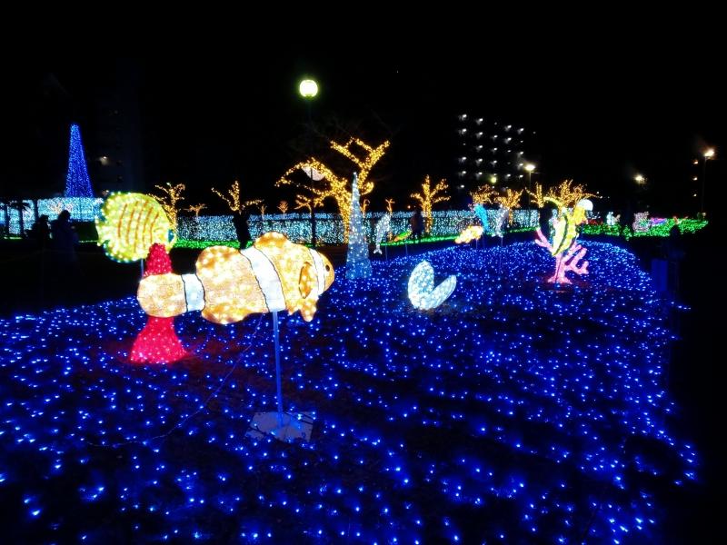 【奈良】駅前で楽しめるイルミネーション!「天理市光の祭典」に行こう
