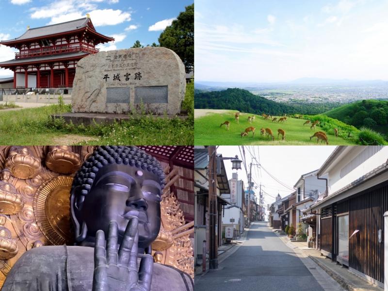 【奈良】平城宮跡・東大寺・若草山をめぐる1日観光モデルコース