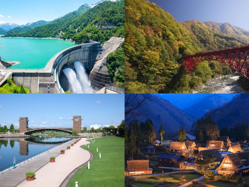 富山の人気観光スポットをめぐるモデルコース3選!富山旅行におすすめ