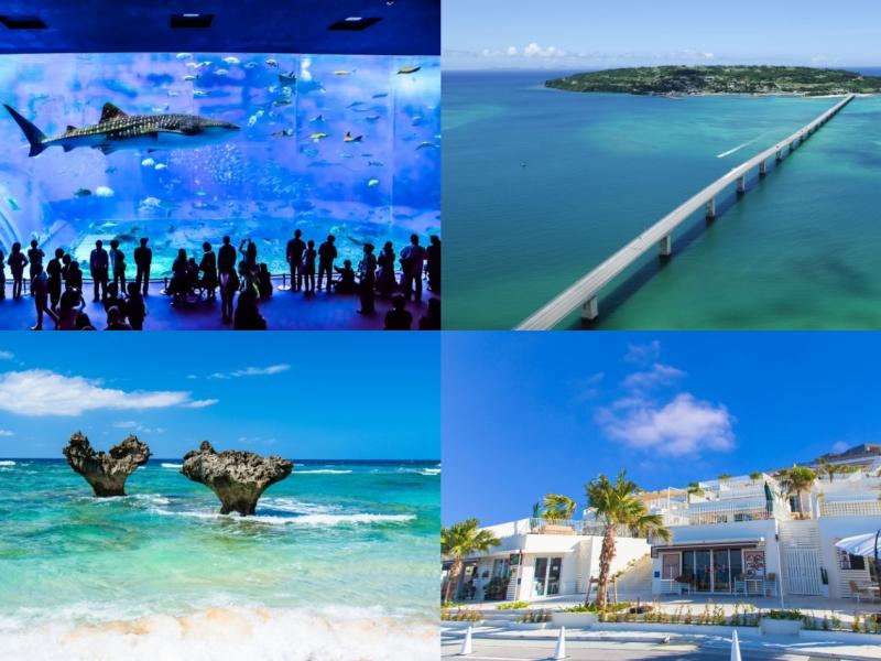 美ら海水族館に国際通りも!沖縄本島の人気名所をめぐる1泊2日観光モデルコース