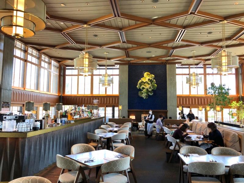 【京都モダンテラス】の雰囲気がものすごい!モダニズム建築の名作「ロームシアター京都」内のカフェ