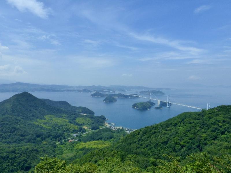 【しまなみ海道】で橋×瀬戸内海の景色を楽しもう!絶景展望台3選!