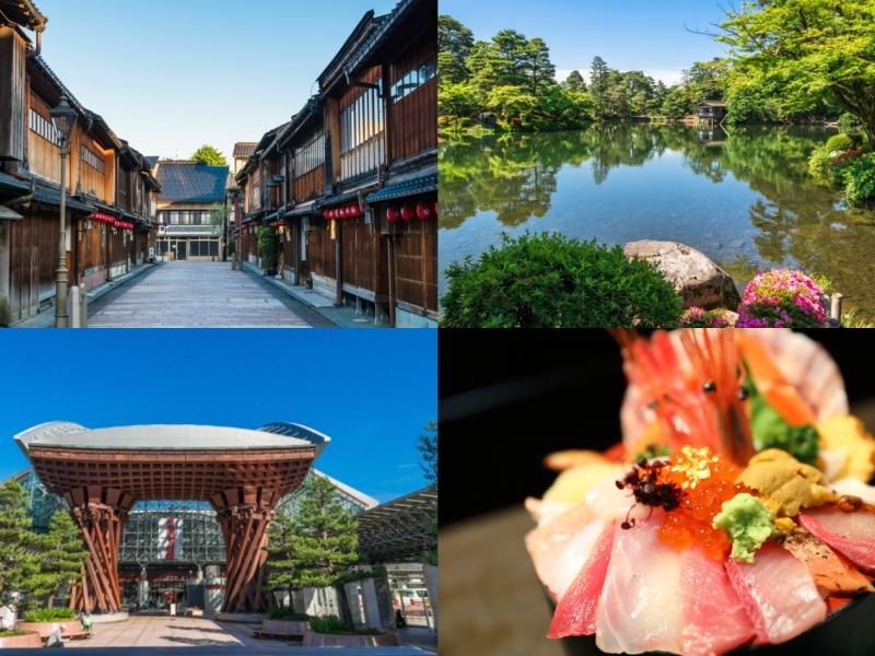 兼六園にひがし茶屋街も!金沢の人気名所をめぐる1泊2日観光モデルコース