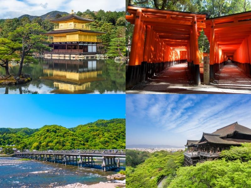 初めての京都旅行に!超王道スポットだけ巡る1泊2日観光モデルコース
