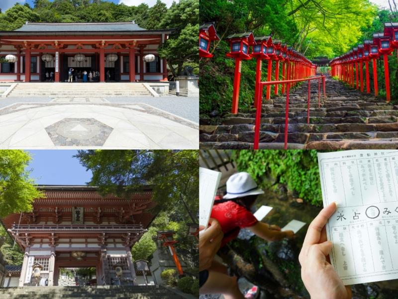 鞍馬寺・貴船神社を1日で巡る観光モデルコース【京都】