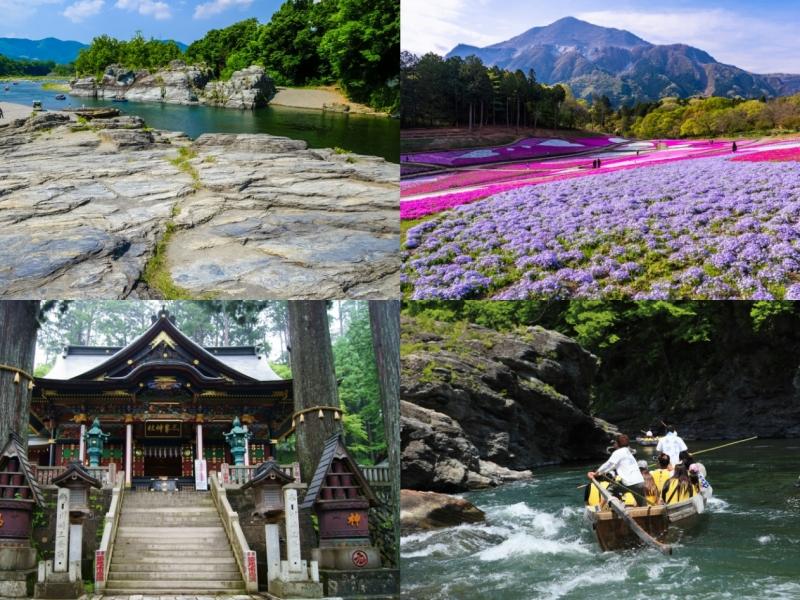 岩畳に羊山公園、三峯神社も!長瀞・秩父1日観光おすすめモデルコース