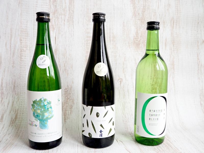 お酒で旅する【香川】名産オリーブの日本酒3選&飲み比べ