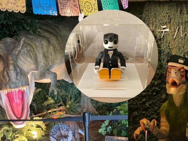 【変なホテル舞浜 東京ベイ】恐竜が出迎えてくれる不思議なホテル