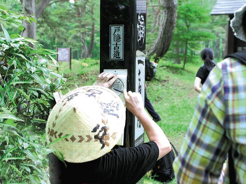 長野県・戸隠古道「神道」で戸隠神社3社巡り!神秘の鏡池と蕎麦も♪
