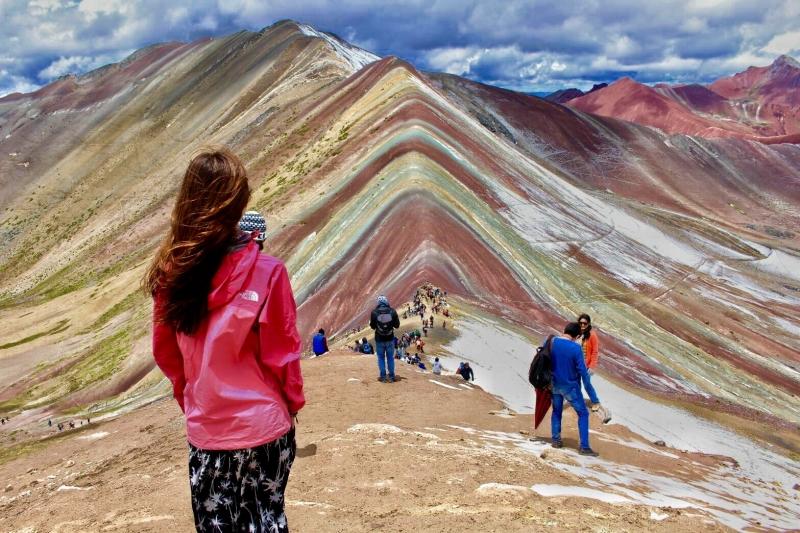 コーヒーじゃないよ!標高5,200mの絶景!ペルー・レインボーマウンテン