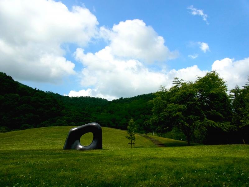 札幌から約1時間!安田侃彫刻美術館 アルテピアッツァ美唄で芸術に触れる。