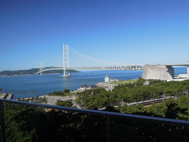 明石海峡大橋を眺める絶景が自慢!シーサイドホテル舞子ビラ神戸