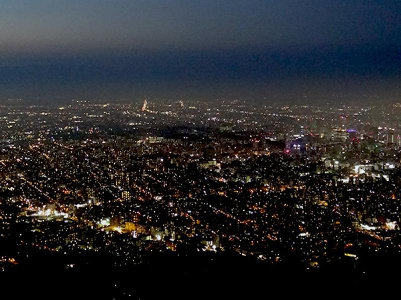 【札幌】藻岩山展望台から日本新三大夜景を見る!!周辺施設を散策する!!