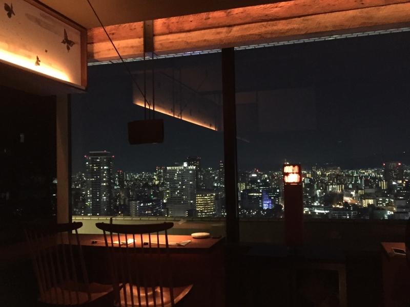 【大阪】高層階からの夜景にうっとり♪コスパも料理も大満足!ちょうつがひ