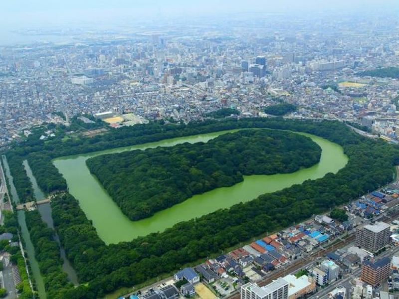 世界三大墳墓の一つ【大阪】仁徳天皇陵古墳の楽しみ方あれこれ教えます