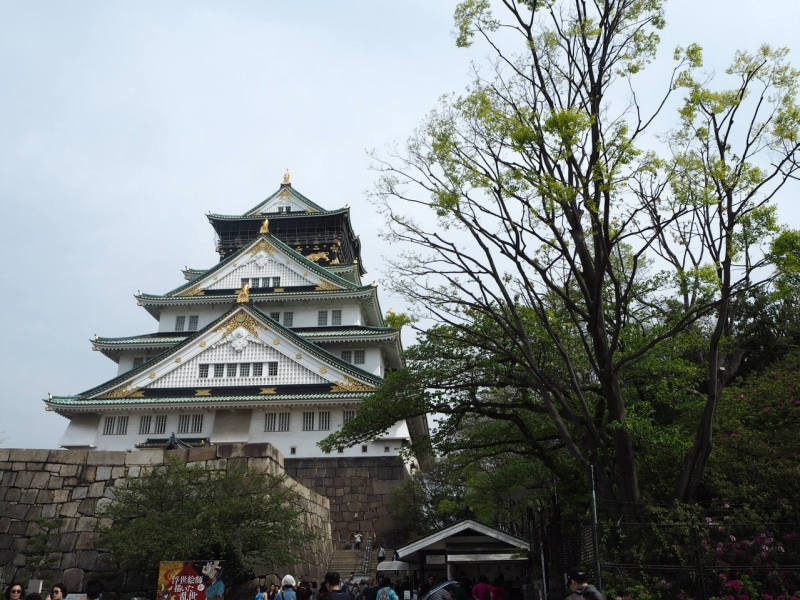ニュースポットと歴史を巡る~大阪城公園をお散歩しよう~
