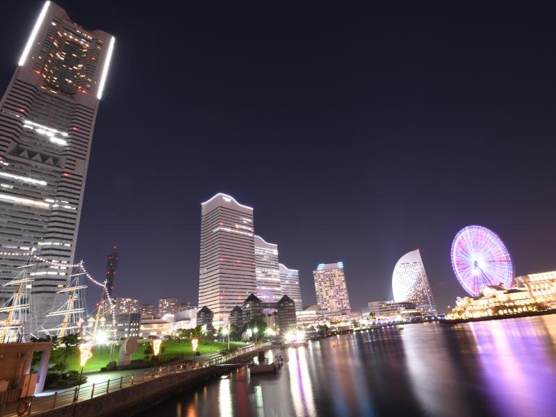 【横浜】2時間でまわれる!厳選インスタ映えスポットで夜景ウォーク