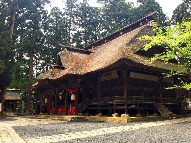 【山形県】熊野大社で三羽のうさぎ探しや、縁結び祈願をしてみよう!