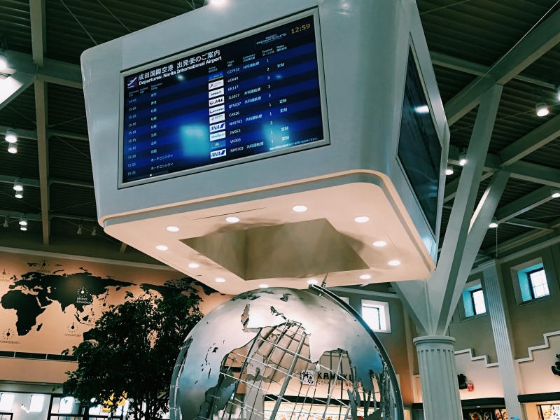 【酒々井】成田空港の乗換え時間を有効活用!アウトレットでお買い物