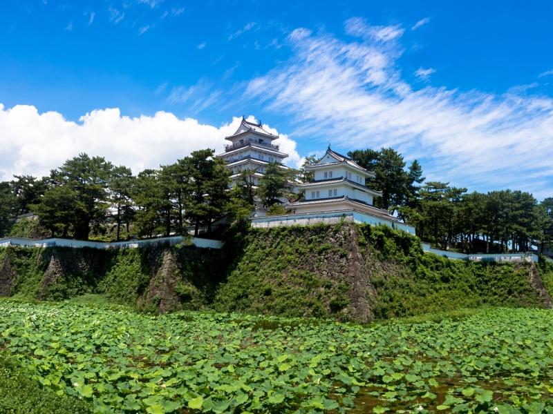 【長崎】青に映える壮麗なお城「島原城」