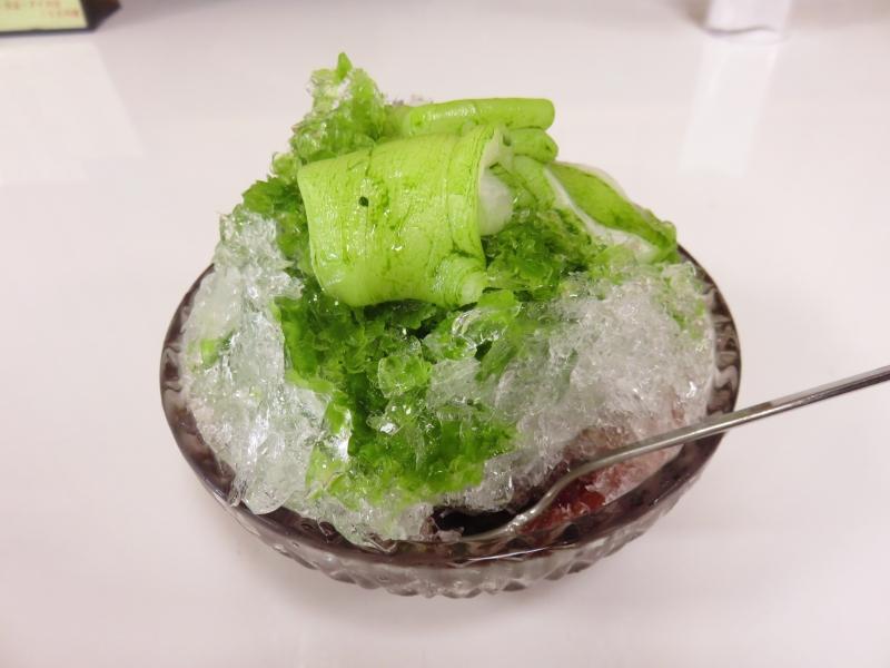 【福井】カンナで削るガリガリ氷!老舗和菓子屋・松岡軒の手かき氷