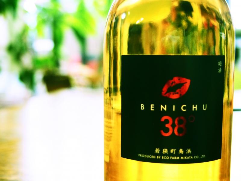 【福井】甘くない不思議な梅酒「BENICHU」と若狭の地酒「加茂栄」