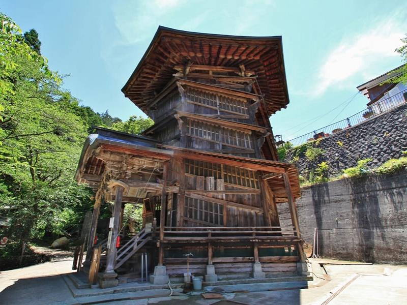 さざえ堂 [栄螺堂] | 福島観光