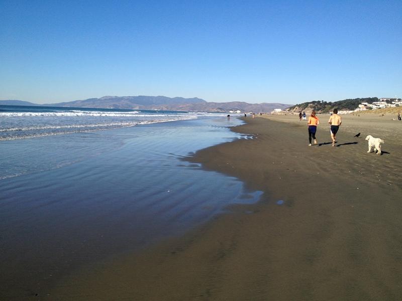 オーシャンビーチ ocean beach サンフランシスコ観光