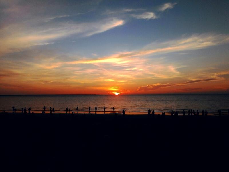 ミンディルビーチ サンセットマーケット mindil beach sunset markets