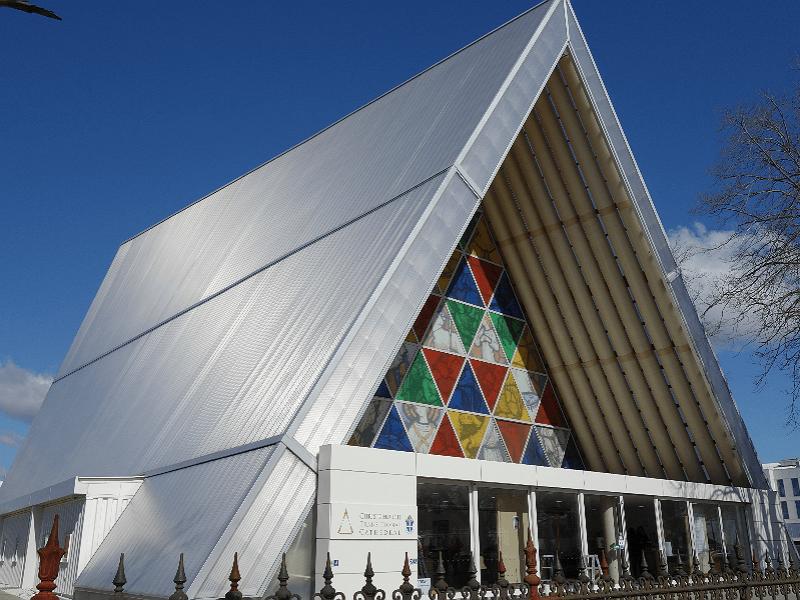クライストチャーチ・トランジショナル大聖堂 [Christchurch Transitional Cathedral] | ニュージーランド観光
