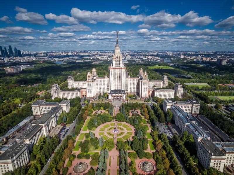 モスクワ大学 [M. V. Lomonosov Moscow State University] | ロシア観光